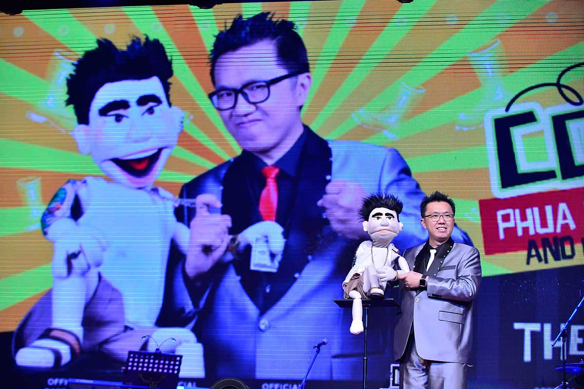 South East Asia Ventriloquist – Joseph Then